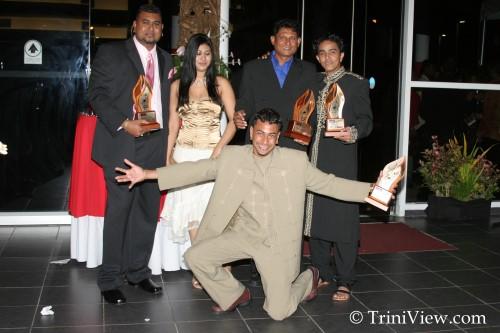 LEFT: Anil Bissembhar, Nisha Bissembhar, Ravi Bissembhar, Omadath Maharaj, and Imran Beharry