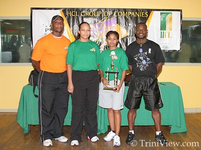 (L) Michael Williams, Amanda Reyes, Sherry-Ann Coleman and Christopher Barry
