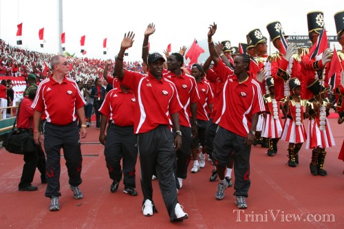 Congratulations Soca Warriors in pictures